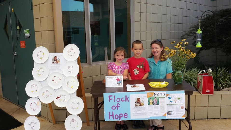 Heifer International Flock of Hope Fundraiser
