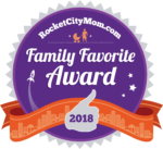 Rocket City Moms Family Favorite Award 2017