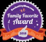 Rocket City Moms Family Favorite Award 2017