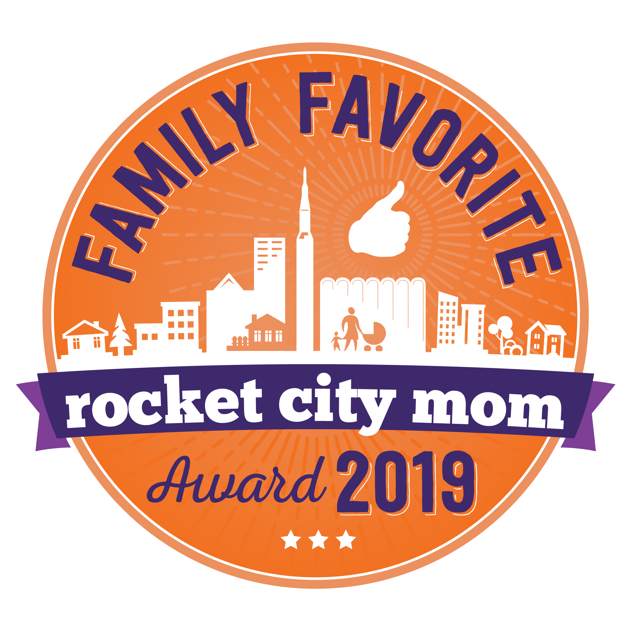 Rocket City Moms Family Favorite Award 2018